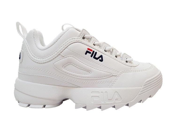 FILA buty Disruptor Low damskie białe